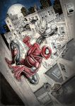 SPIDEY vs HAUNT by Vinz-el-Tabanas