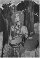 Druid life for me by NeskaMD