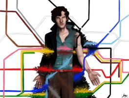 Sherlock Underground by kafers