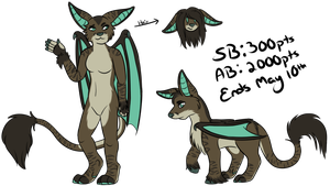 [ADOPT] Creature Auction w/full ref by bieIIe