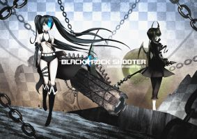 Black Rock Shooter by khanshin