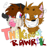 .The Kings of Rawrs. by cho-click