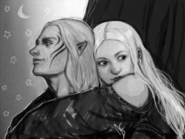 The Crow and the Warden by DancinFox