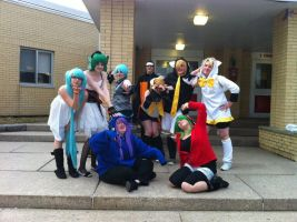 Vocaloid Photoshoot! by PockyBoxxProductions