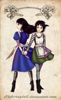 Alice and Alice by Chibi-Ragdoll