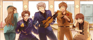 hetalia vol.5 !!! by shidouaoi