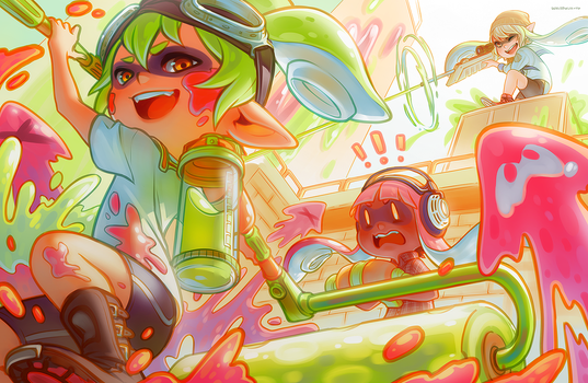 Splatoon by whispwill
