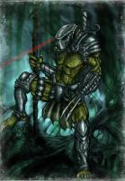 Predator FANART colors by bearcavestudios