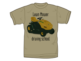 Lawn Mower Driving School by Ticketless-Aplause