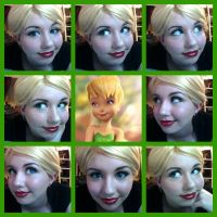 Tinkerbell Makeup Test 2 by lastchance91