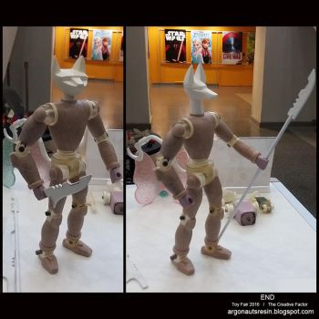 Toy Fair Live Demo Sculpt Project by Arthammer