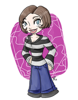 Shorter Haired Ally by Miss-Mae