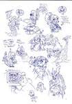 Weird Sketches 25092014 by toongrowner