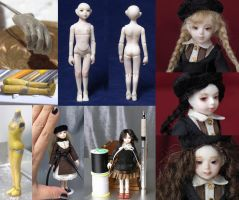 Handmade Resin Doll by driveA