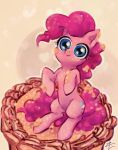 Pinkie on Cake by its-lizombie