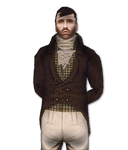 Francois Charleville Portrait (Alpha Version) by Fraztov