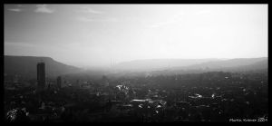 Misty City by hquer