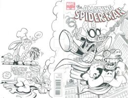 Spiderham y Cerdotado by POLO-JASSO