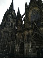 Cologne Cathedral Side by 1nfiltrait0rN7