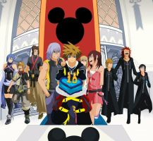 KINGDOM HEARTS 10TH ANNIVERSARY! by Slmcknett