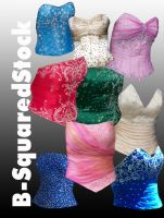 Corset Pack 2 PSD by B-SquaredStock