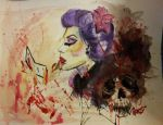 How's my lipstick? by jeanettegonzales