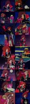 Captain Harlock - an Unabashed  Alcoholic # 2 by TheWolfPoet23