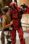 Attack on Iron Deadpool? by Geistson