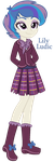 Lily Ludic - Equestria Girls Adoptable - SOLD by MonkFishyAdopts