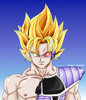 Turles SSJ -I am- by Barkarott by JJJawor