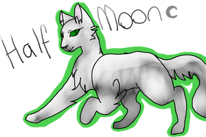 Half moon by Red-Pawsx