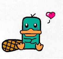kawaii perry by Spongebobluvr66