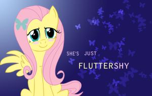 She's Just Fluttershy by OceanWarriorZ