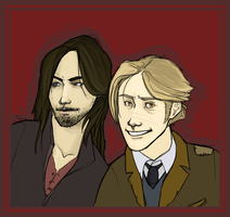 Sirius and Remus by Tazkia
