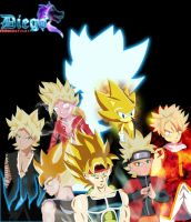 super saiyan legacy by SuperhedgehogTX