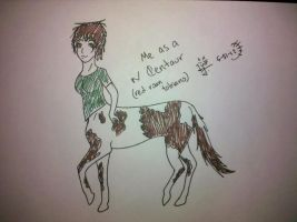 Ksenia the Centaur by my-name-is-totoro