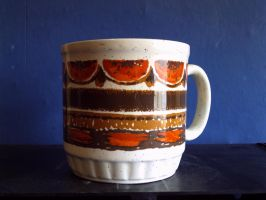 70's 80's Mug With Moden Pectcive by theoldhorse2