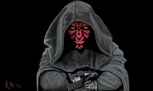 Darth Maul by Miss-A-sketches