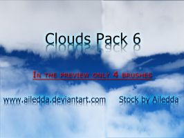 Clouds Pack 6 by Ailedda
