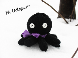 Mr. Octopus ~plushie~ by snowyMelon