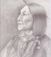 Native American Portrait by ShadowTalent