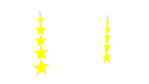 MMD Star Earrings DL by chickid11