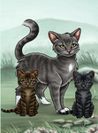 My Warrior cats RPG Profile Pic by Lovelyartheart