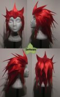 Wig Commission - Axel by kyos-girl