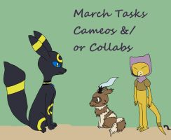 TLF March Tasks C and C by AllKnowingMay