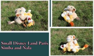 Small DLP Simba and Nala by Laurel-Lion