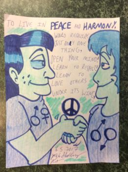 BLUE: Love Thy Neighbor [Peace and Harmony] by JCSStudio