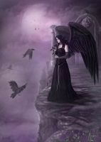 Violet Dreams by CLB-Raveneye