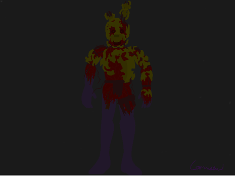 Dead Springtrap FNaF: The Return by Camacaw