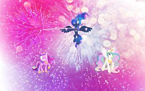 The Princesses' New Year by GPro587